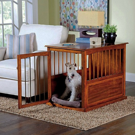furniture pet crates. Unique Crates Aceu0027s 4 Favorite Dog Crate Furniture Items With Furniture Pet Crates