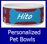 Shop Personalized Pet Bowls