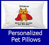 Shop Personalized Pet Pillows