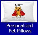 Shop Personalized Pet Pillows